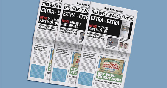 Twitter Launches Conversational Ads: This Week in Social Media