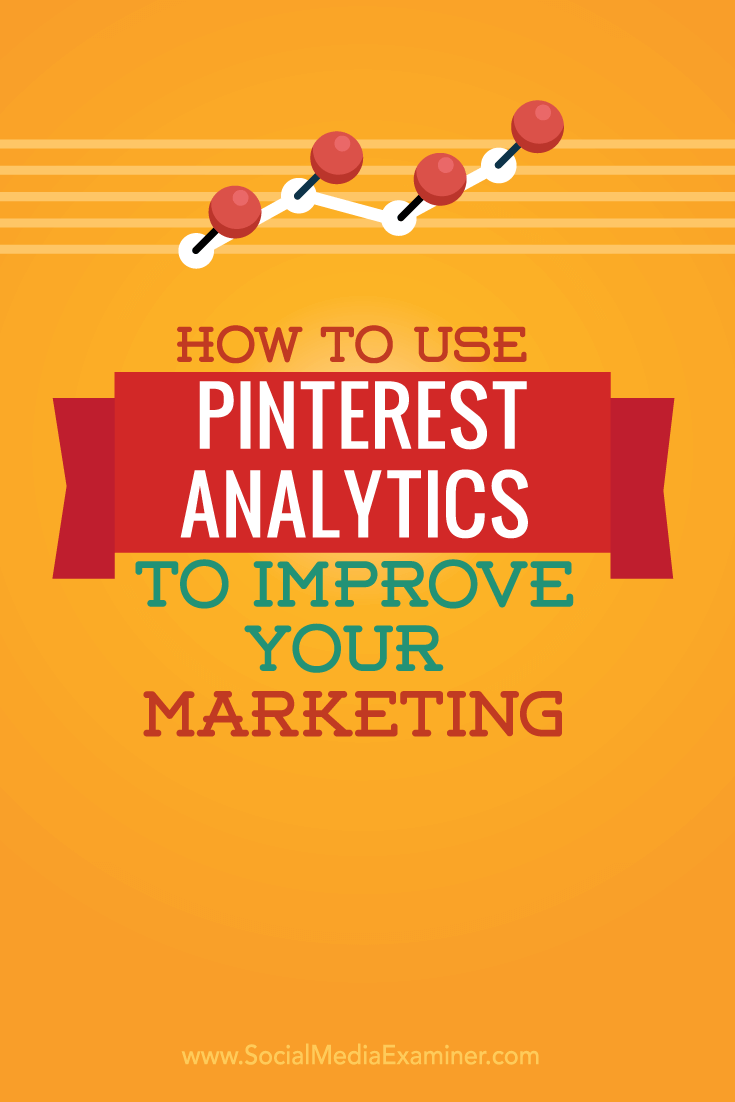 how to use pinterest analytics in social media
