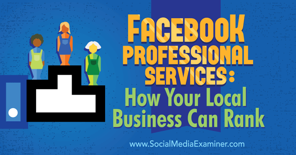 ranking your business with facebook professional services