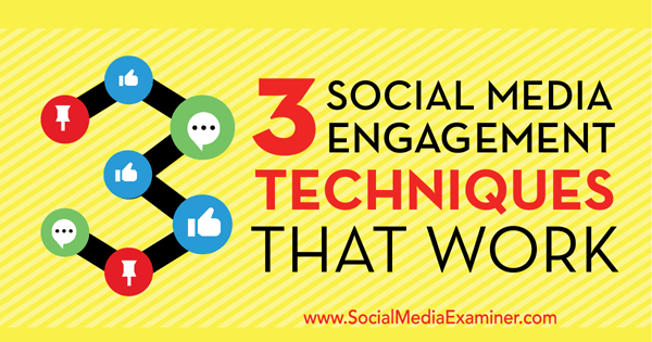 social media engagement techniques