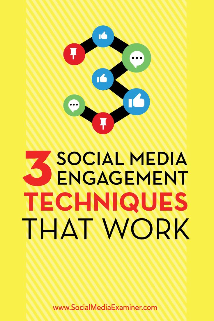 Verbesserung des Engagements in sozialen Medien