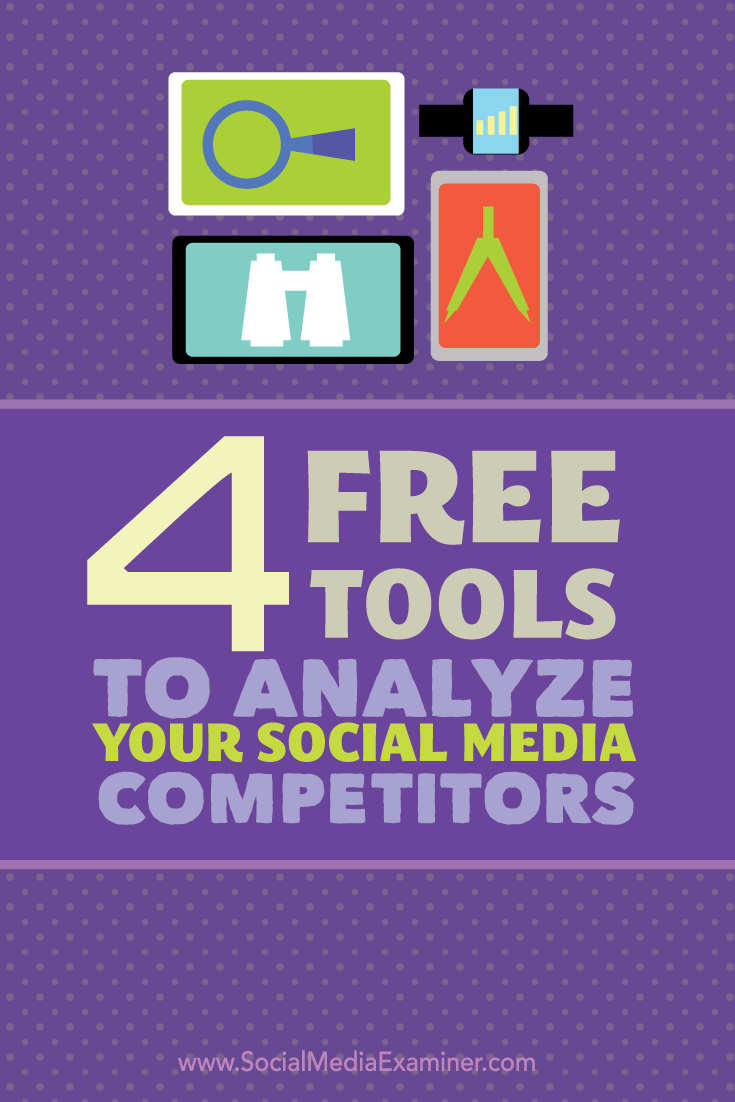 four tools to analyze competitors on social media