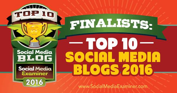 2016 blog contest finalists