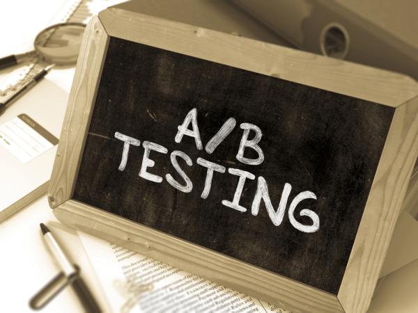 ad testing chalkboard shutterstock 326747507