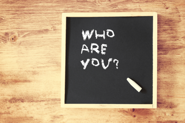 chalkboard who are you image shutterstock 181022165