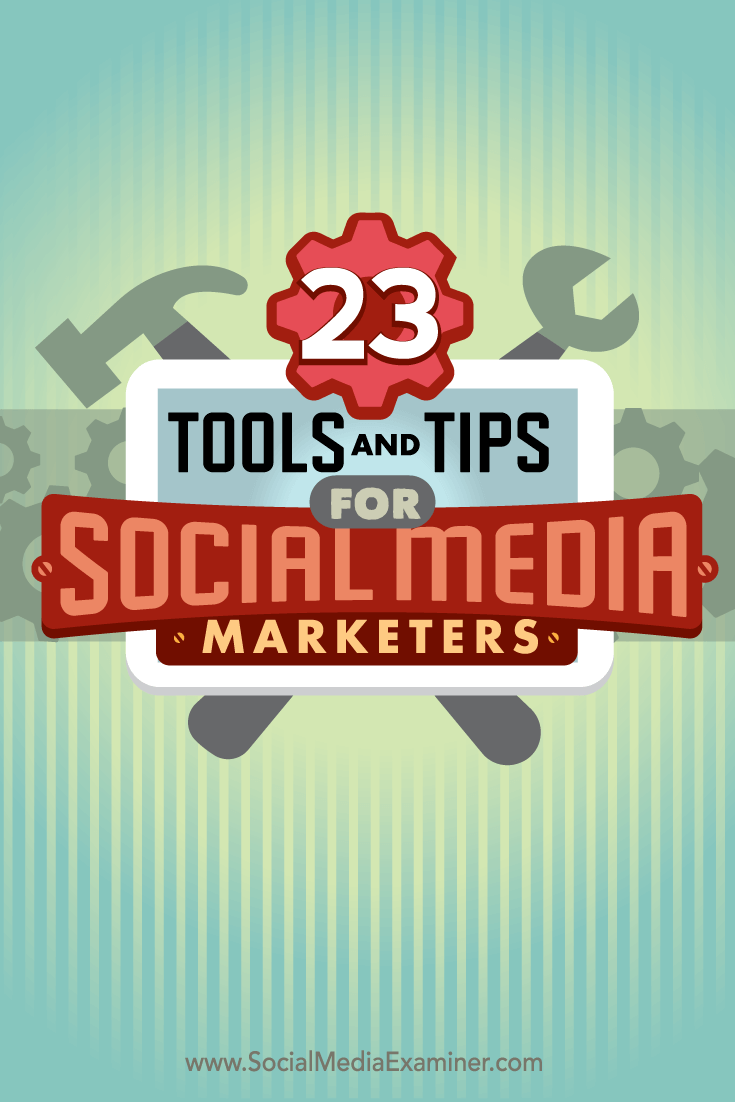 tips and tools for marketers