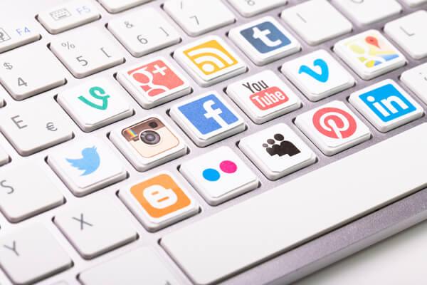 social keyboard image shutter stock 218622694
