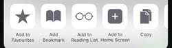 iconosquare add to home screen