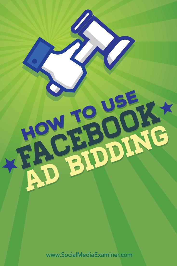 facebook ad bidding and facebook campaigns