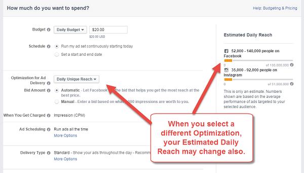 optimization and reach