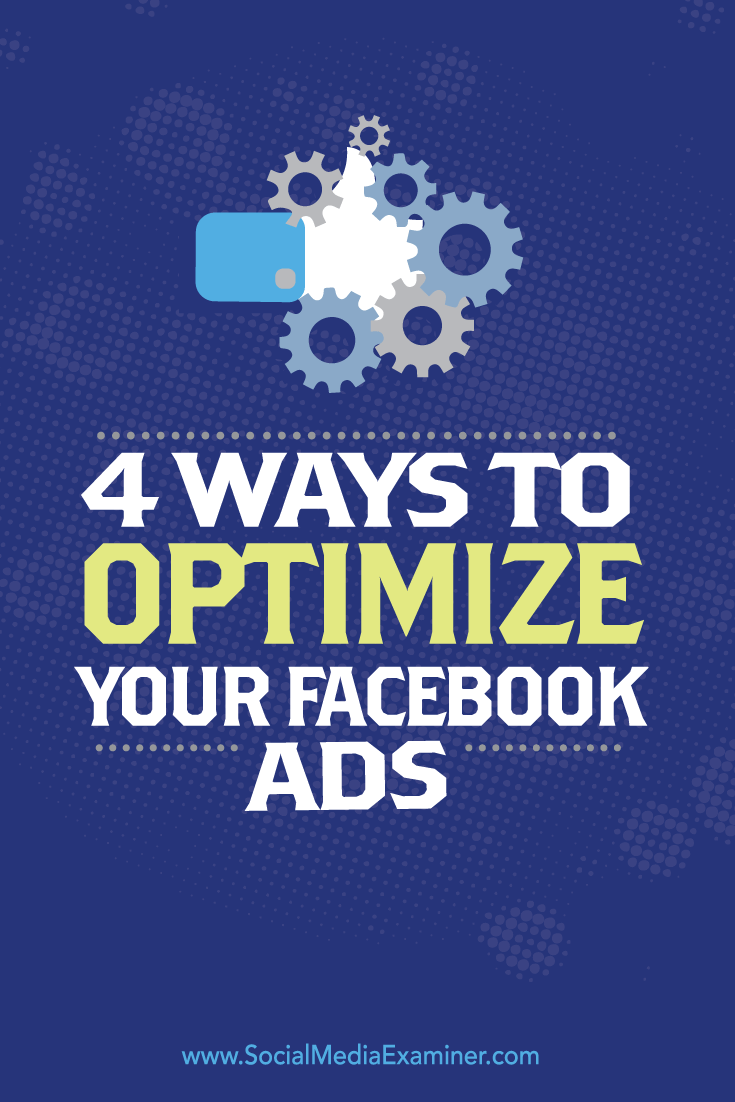 optimize facebook ad campaign