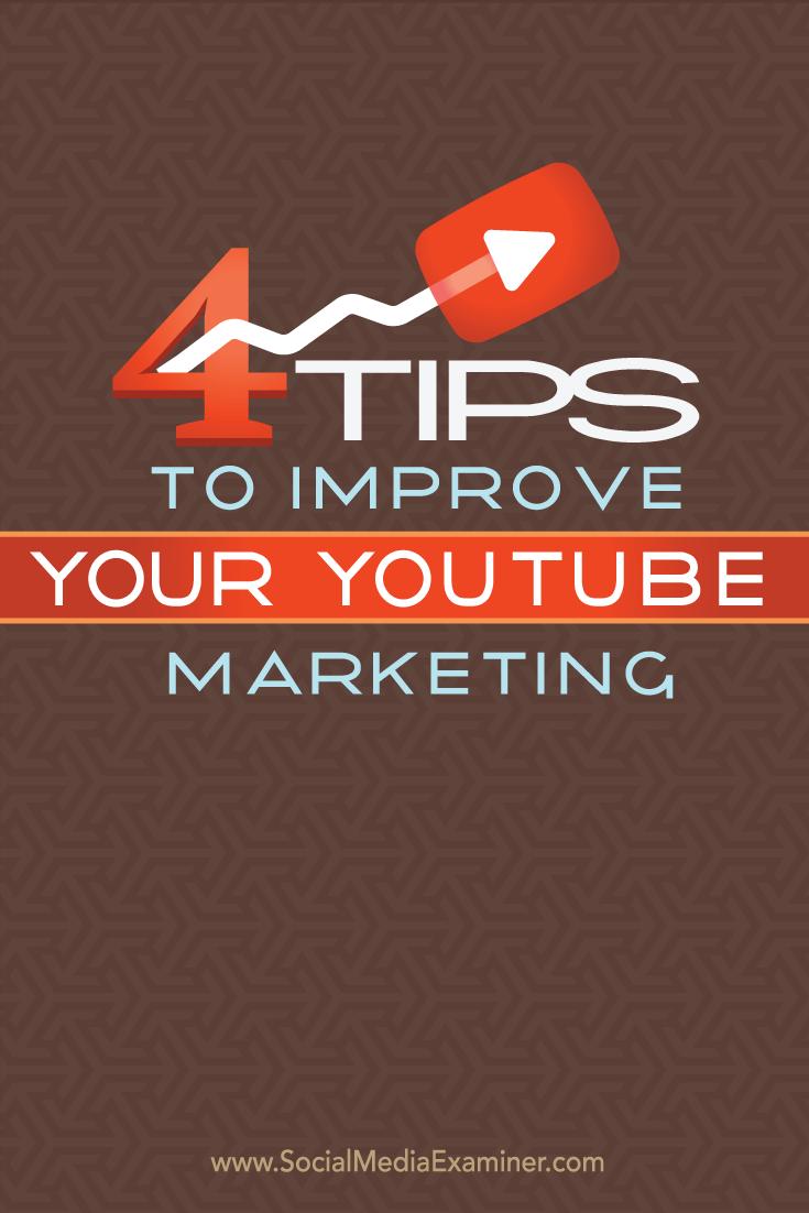 improve youtube marketing