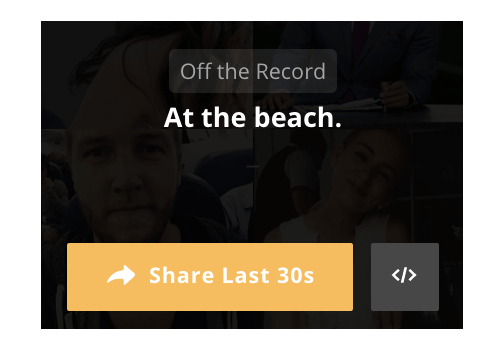 blab share button