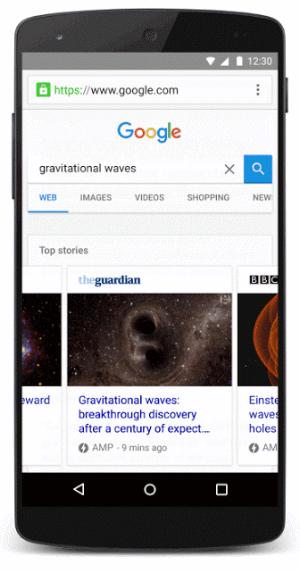 Google Amp Suchergebnisse