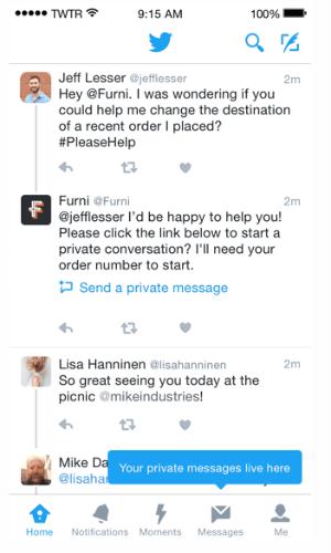 twitter customer service tools