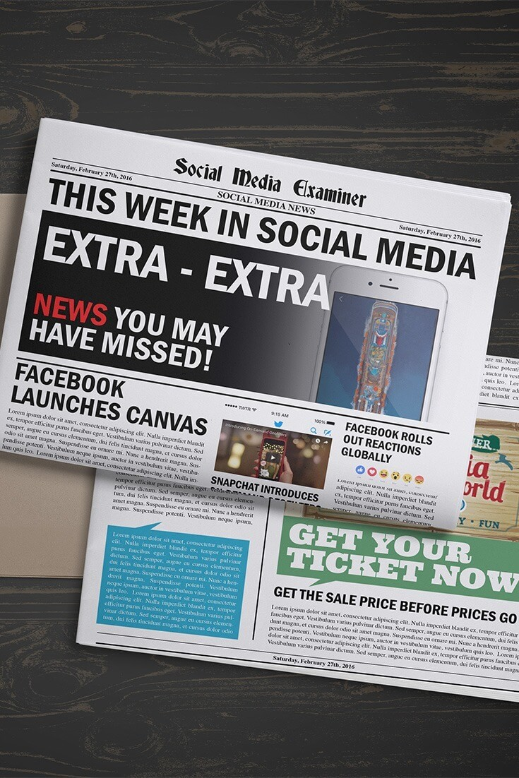 social media examiner weekly news february 27 2016