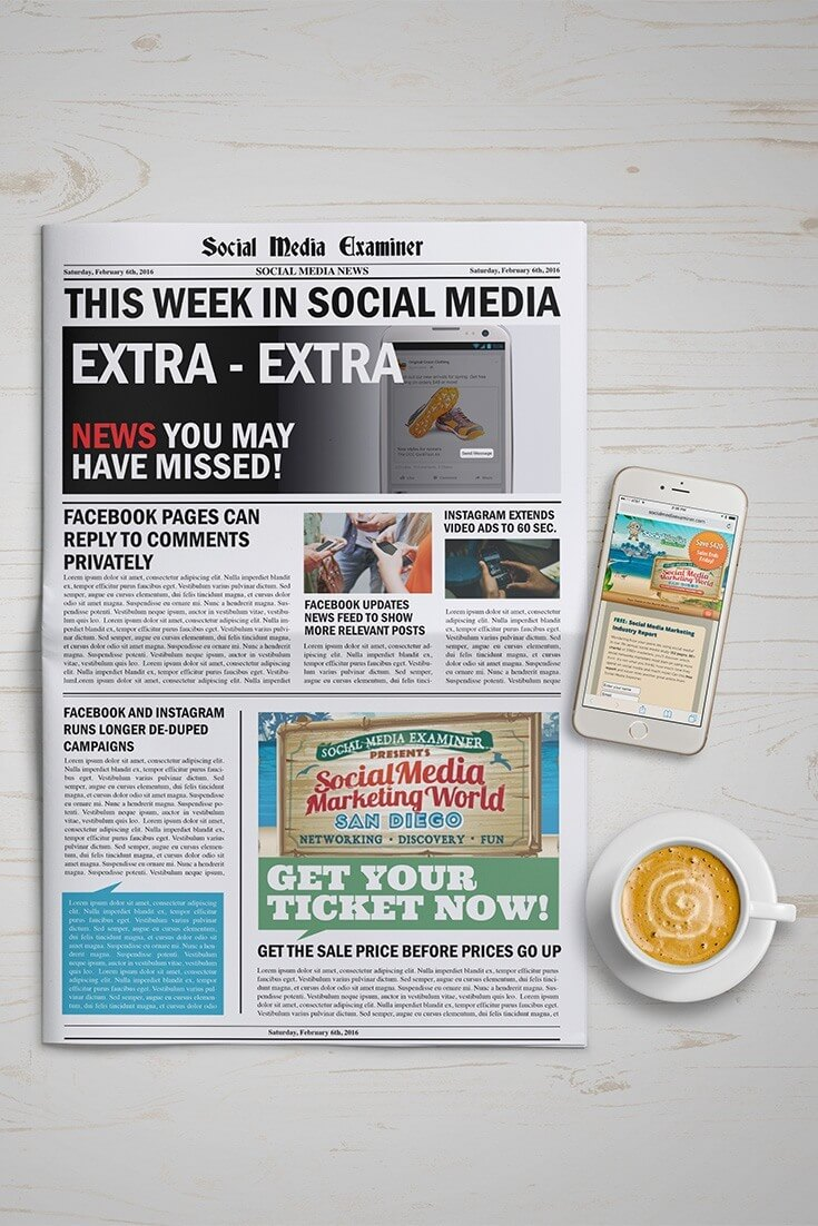 social media examiner weekly news february 6 2016