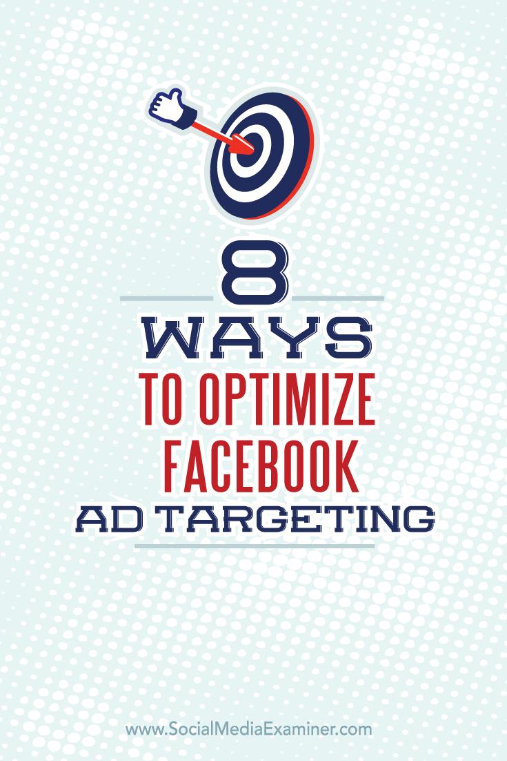 targeted facebook ad optimization