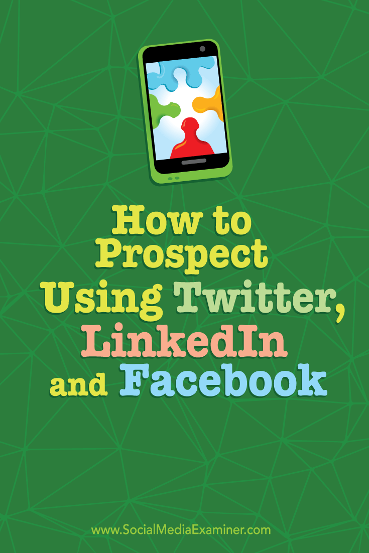 how to use social media to connect with potential customers