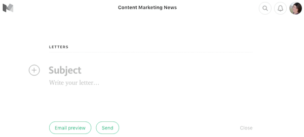 email-specific features