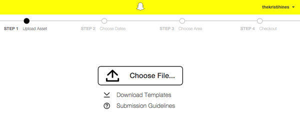 snapchat geofilter template download