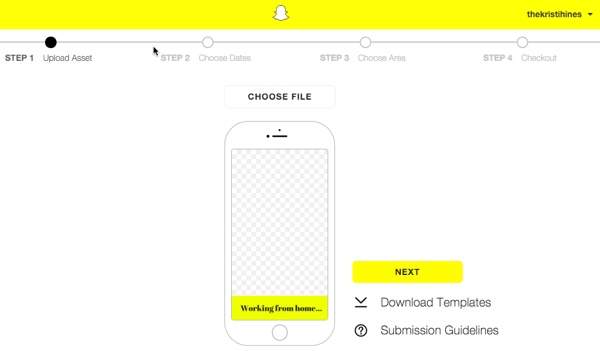 Image gallery snapchat template for Snapchat filters maker