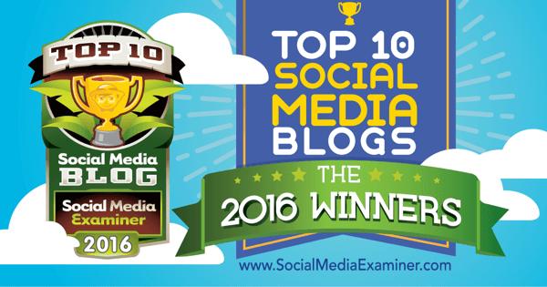 2016 top ten social media blog contest