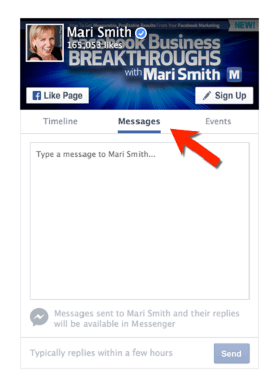 facebook messengers plugin