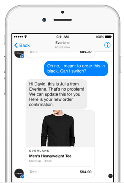 facebook everlane example