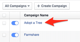 select ad campaign