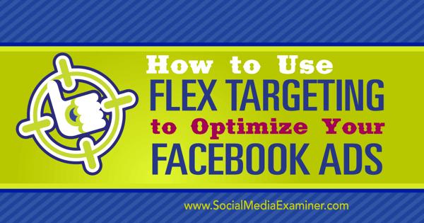 flex targeting for facebook ads