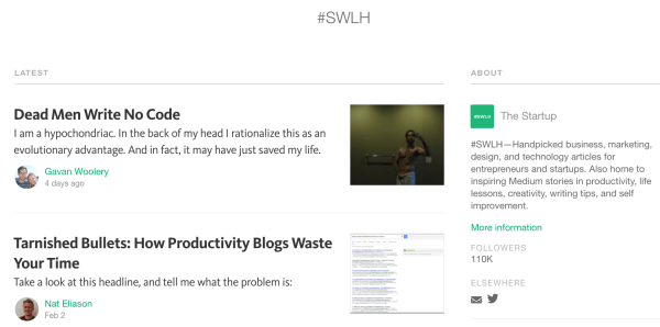 swlh medium content curation