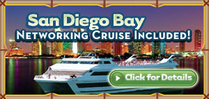 Join 1000 marketers on our San Diego Bay Networking Cruise