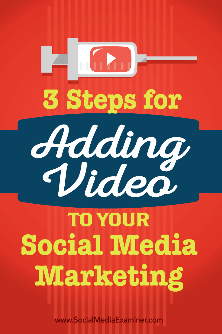 how to add video in to social media marketing
