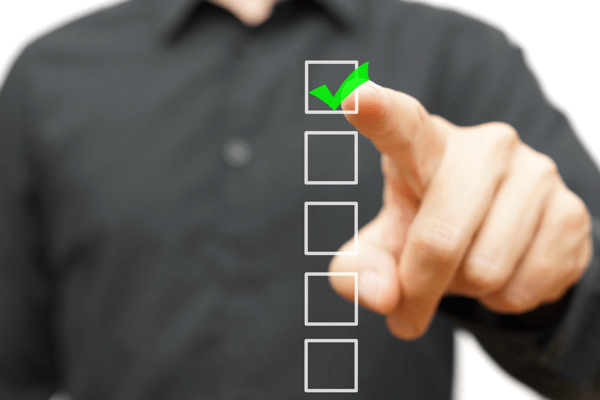 checklist shutterstock 217338745