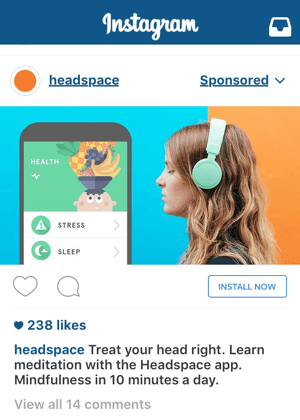 instagram ad call to action