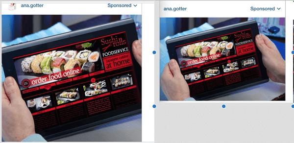 instagram ad format comparison