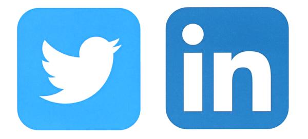 twitter and linkedin image shutterstock 381827623
