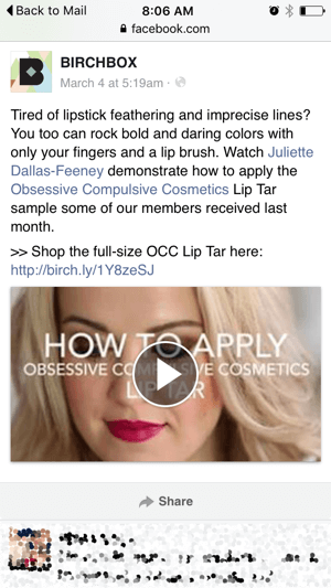 instructional video ad