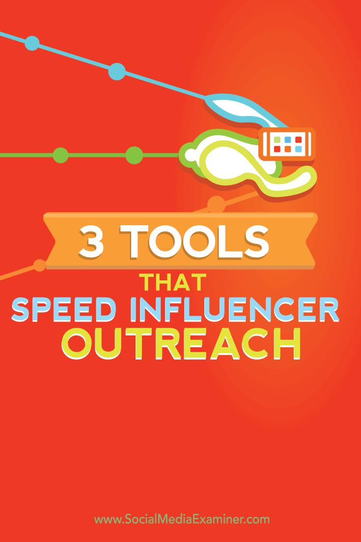 tools to streamline influencer outreach