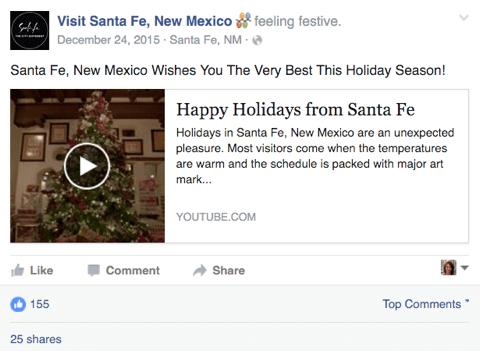 YouTube-Video auf Facebook gepostet