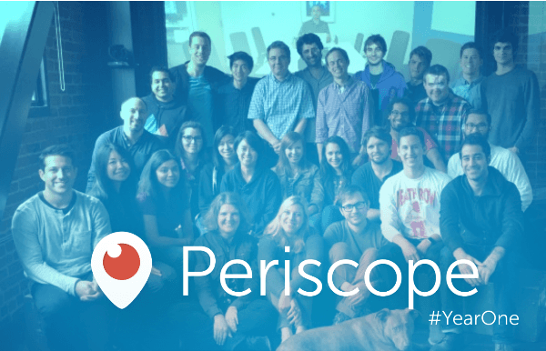 periscope first year