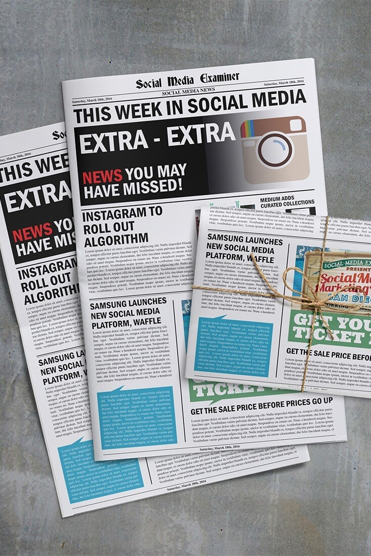 social media examiner weekly news march 19 2016