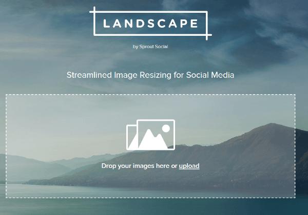 sprout social landscape