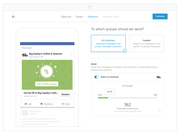 square facebook ads integration