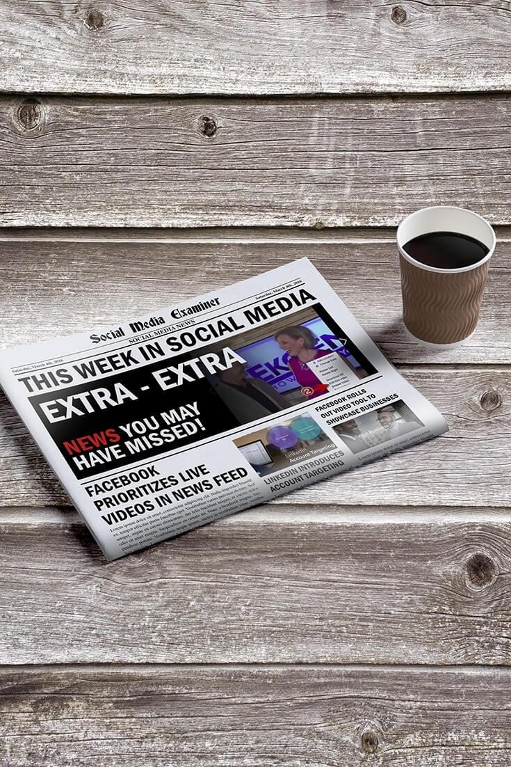 social media examiner weekly news march 5 2016