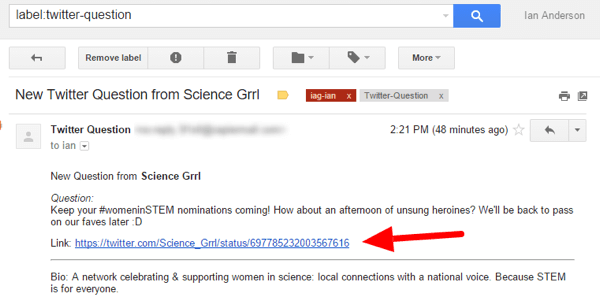 zapier email alert