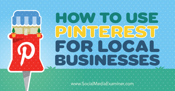 local business marketing on pinterest