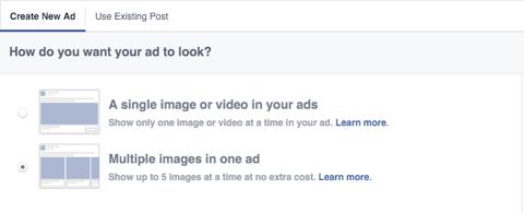 facebook ad image feature