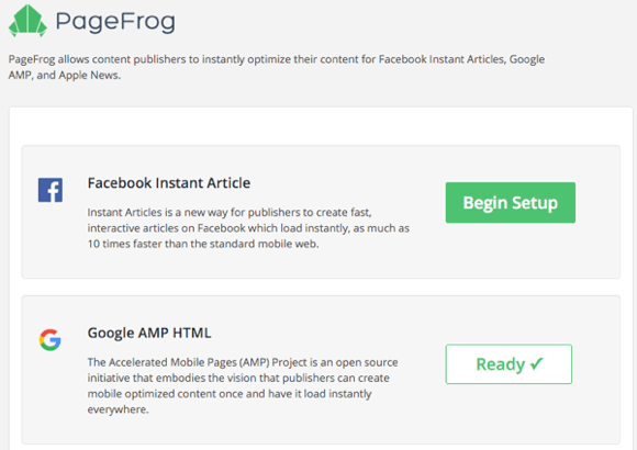 pagefrog plugin settings